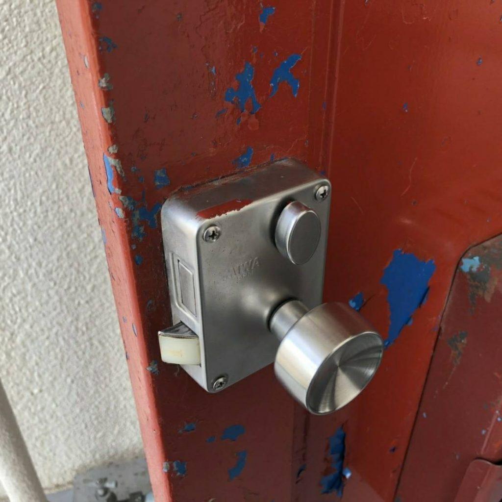 大阪で団地の鍵紛失による鍵開け