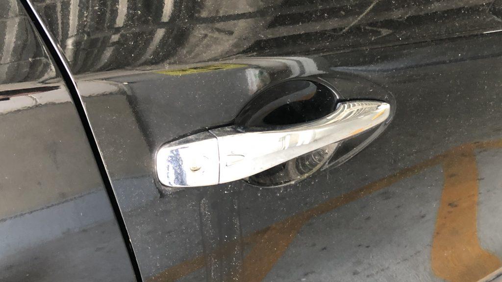 日産ティアナ 運転席ドア鍵開け作業