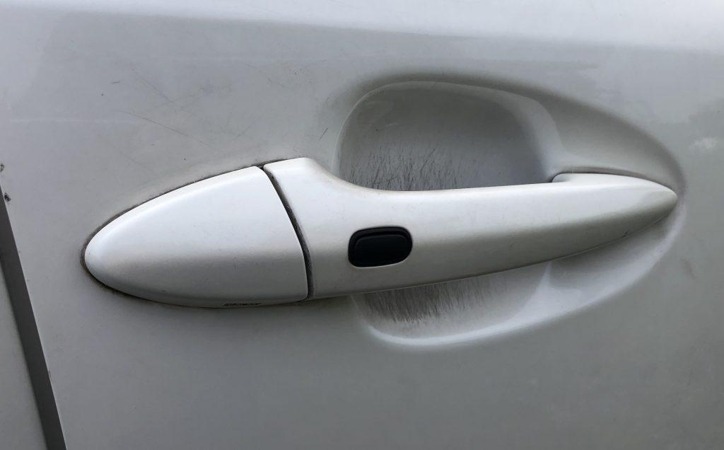 レクサスIS250運転席ドア鍵開け作業