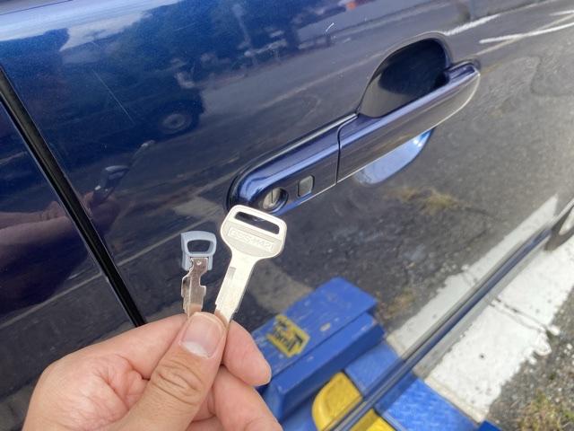 スズキ・パレットのドア用の鍵作成完了