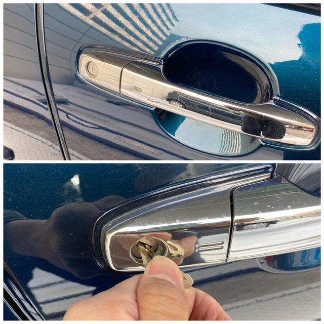 ライズの鍵穴から鍵を作成