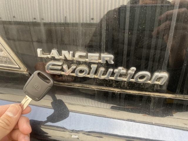 ランサーエボリューションの鍵を作ります